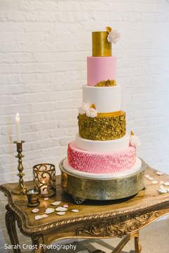 Indian Wedding Receptionindian Cakeindian Cake Design