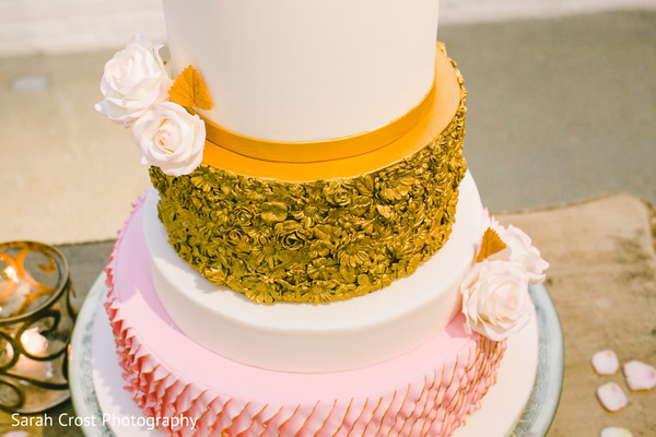 N Mehndi Cake : Unique indian wedding cake design in chicago il stylized shoot by
