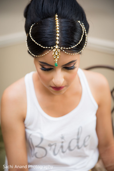 Marvelous indian bridal tikka