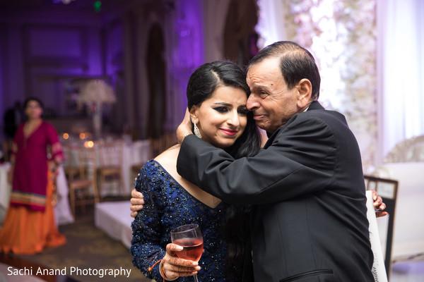 Indian bride's emotional moment