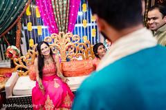 Mehndi Party Saree : Inspiration photo gallery u2013 indian weddings: mehndi night
