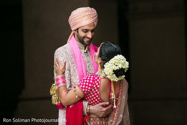 first look photography,indian bride fashion,indian groom fashion