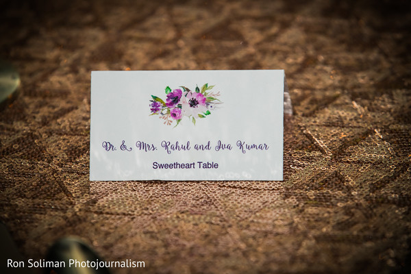 indian wedding reception,seating cards,indian wedding gallery
