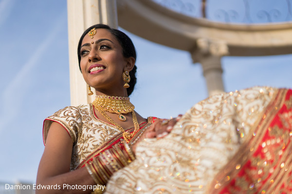 Take a look at this incredible indian bride's photo session
