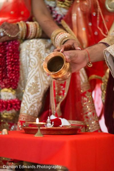 Indian wedding ritual scene