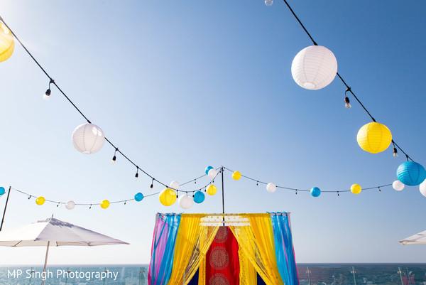 Wonderful mehndi party decor
