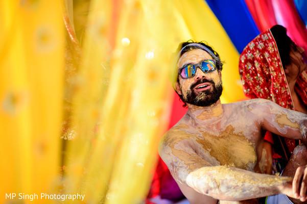 Mehndi Ceremony Mp : Indian groom on haldi ceremony in puerto vallarta mexico