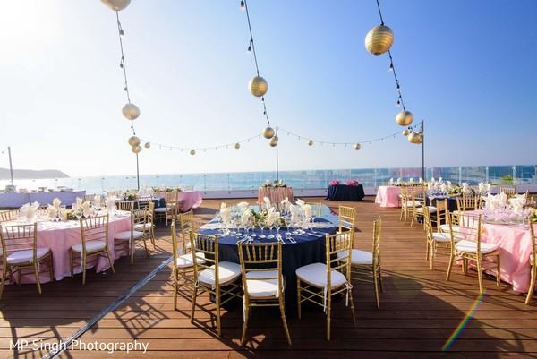Incredible indian wedding reception decor