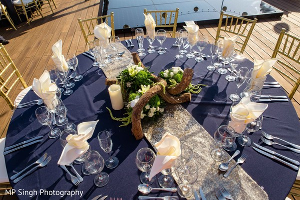 Delightful table set up