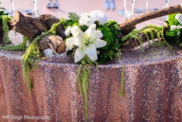 Delightful floral decor