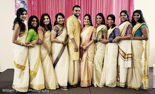 Indian Bride And Groompre Wedding Fashionindian Bridesmaids