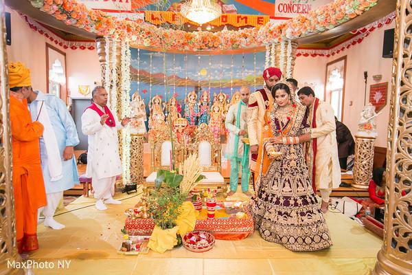 Breath taking Indian wedding ceremony.