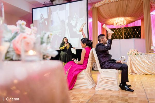 Wedding Reception Games.Indian Bride And Groom S Wedding Reception Games Photo 146251
