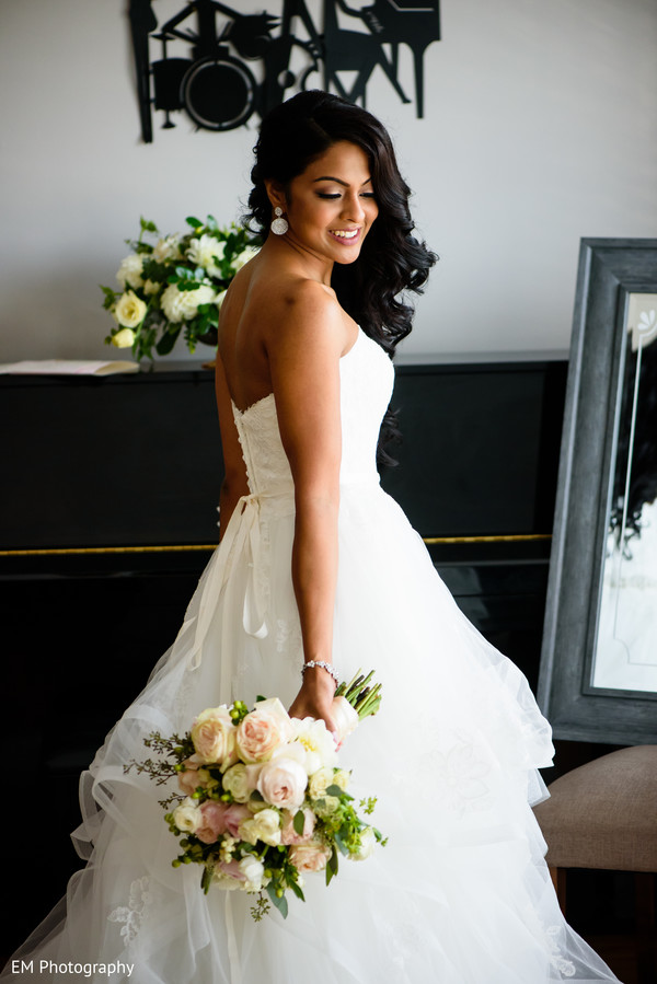 Toronto, Canada Indian Fusion Wedding by EM Photography | Maharani ...