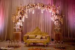 Indian Wedding Receptionindian Reception Floral And Decorindian Planning Design