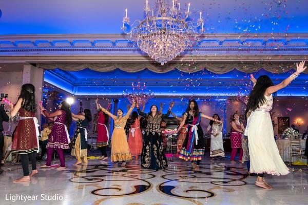 Sensational Indian bridal party performance.