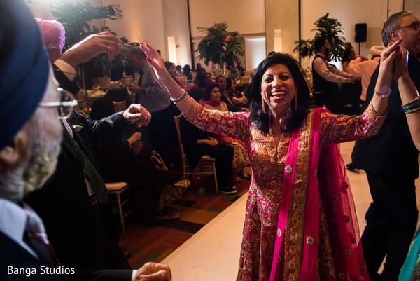 Sangeet celebration party capture