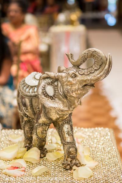 Beautiful Indian wedding decorative elephant.