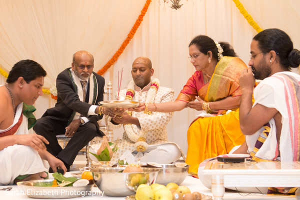 South Indian wedding ceremony ritual.