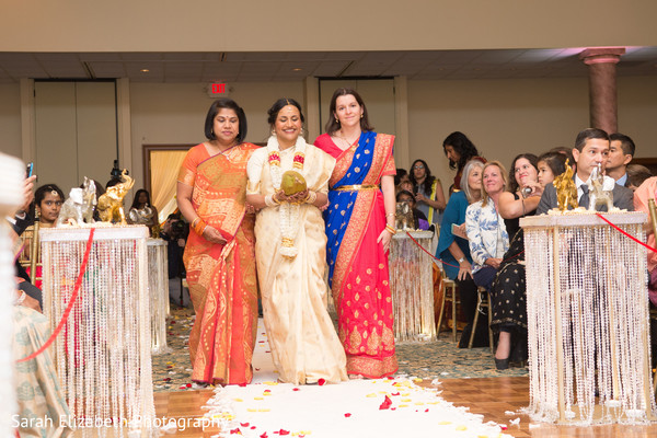 South Indian bride grand entrance.