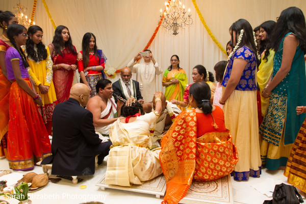 Lovable South Indian wedding ceremony.