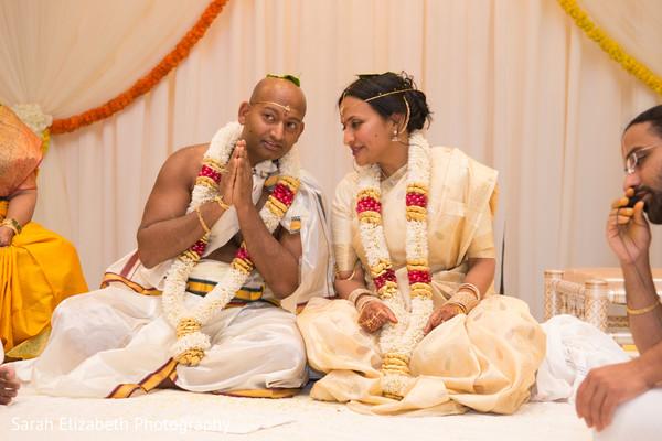 Heavenly Hindu bride and groom.