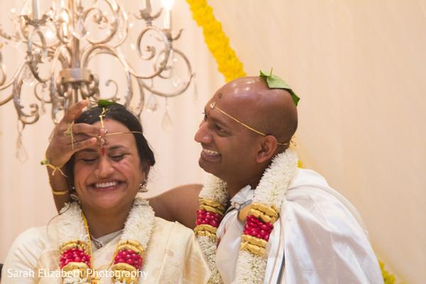 Indian wedding magical scene.