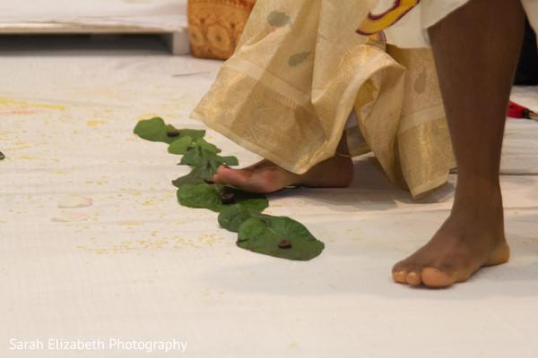 Indian groom wedding ceremony ritual.