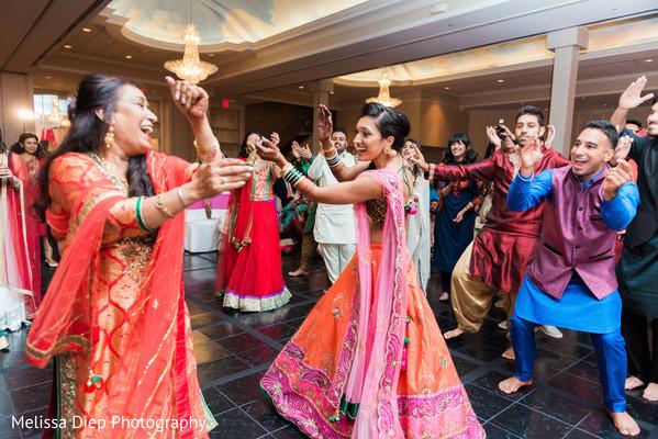 Vibrant sangeet celebration