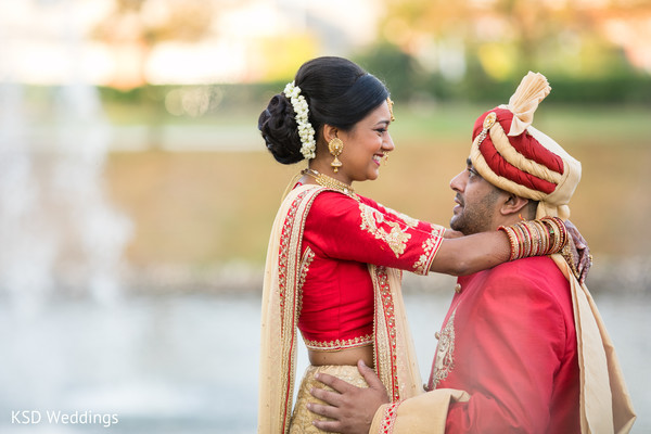 Perfect Indian soulmates photo.