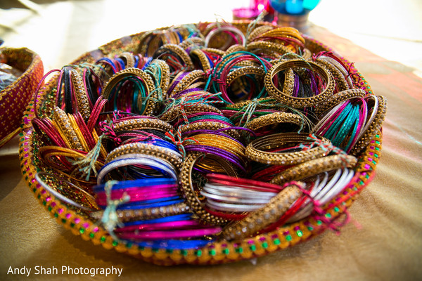 Colorful bangles.
