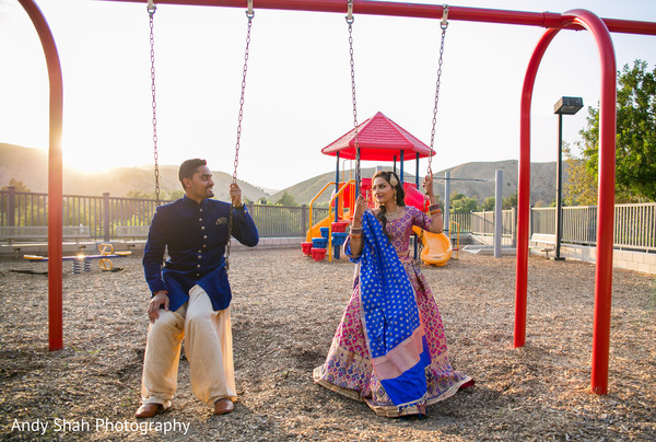 Sweet Indian couple pre-wedding photo shoot.