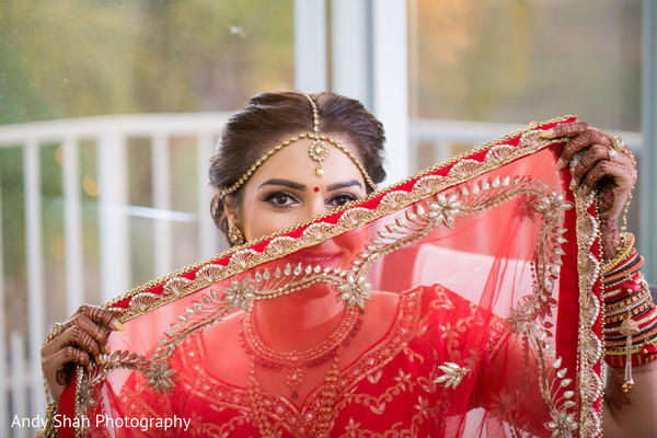 indian bride,dupatta,indian bride hair and makeup