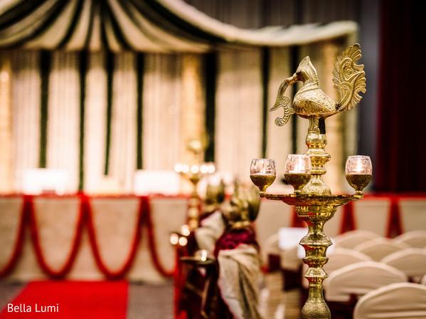 Indian wedding ceremony decor elements