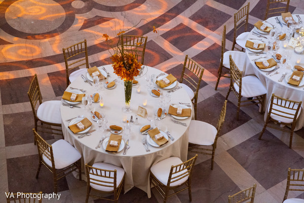 Marvelous Indian wedding reception table.