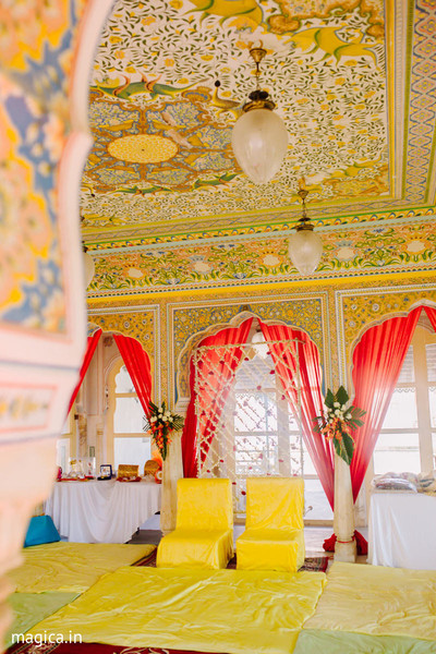 Haldi Ceremony Venue Decor Photo 147876