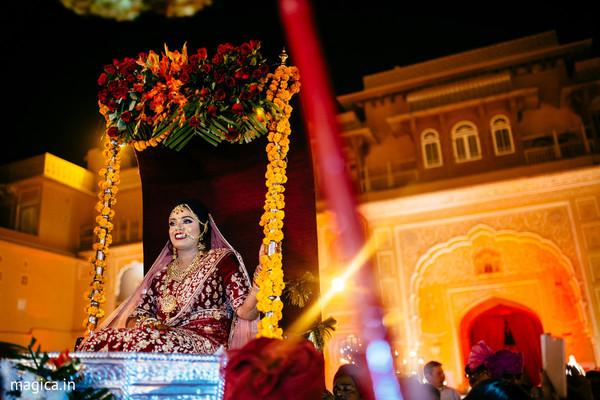 indian wedding ceremony,indian bride fashion,doli entrance