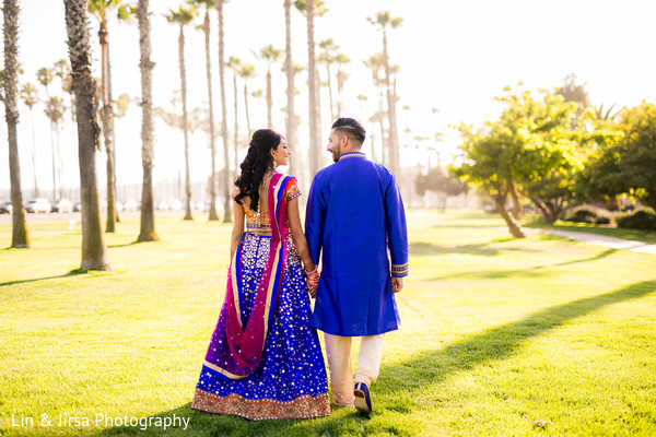 indian bride and groom,portrait,indian wedding photography