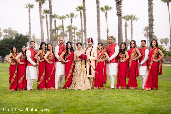 indian wedding photography,indian bridesmaids,indian groomsmen