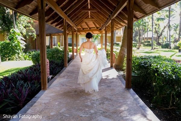 Dreamy Indian bride photo shoot.