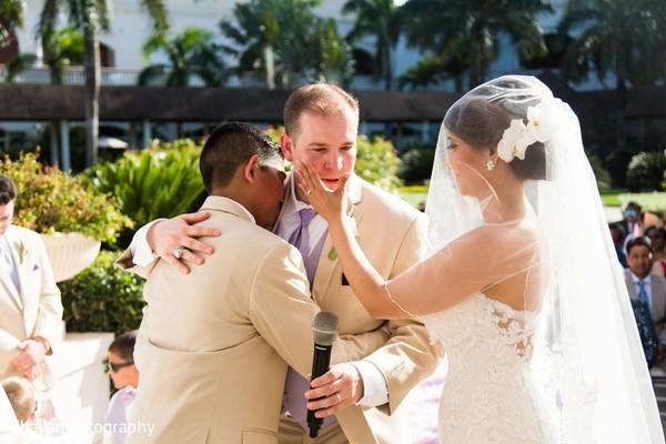 Emotional indian wedding ceremony scene in punta cana dominican emotional indian wedding ceremony scene junglespirit Image collections