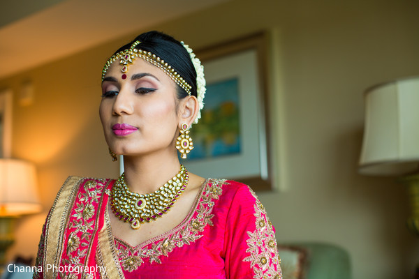 indian bride,indian bride jewelry,hair and makeup