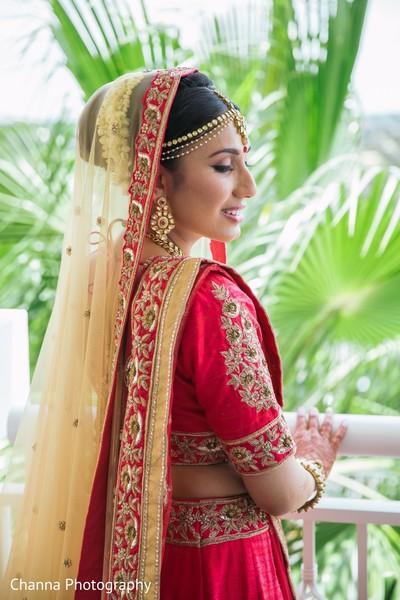 indian bride jewelry,indian bridal fashion,dupatta