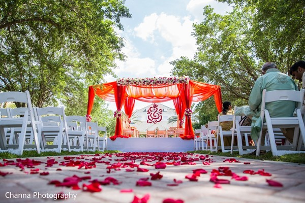 indian wedding ceremony,planning and design,floral and decor,mandap