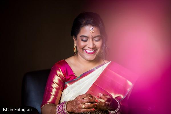 Indian bride hair and makeup inspiration