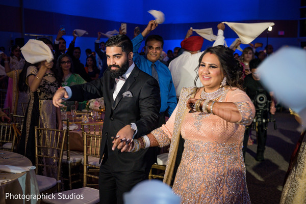 Indian newlyweds stellar moments.