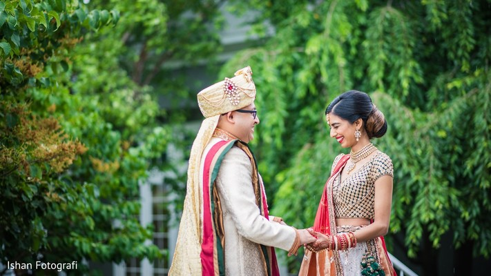 indian wedding gallery,first look photography,indian bride and groom