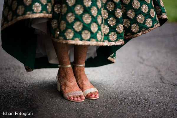 indian wedding gallery,outdoor photography,indian bride shoes,mehndi art