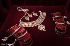Indian bride's wedding accessories