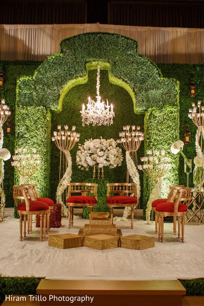 Fascinating indian wedding stage